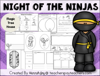 Night of the Ninjas: MTH #5- Centers & Activities (Tools of the Mind)