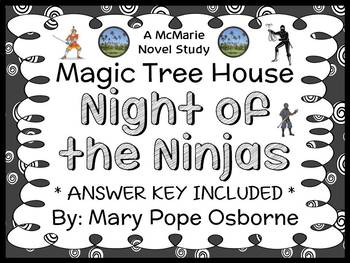 Night of the Ninjas : Magic Tree House #5 Novel Study / Reading Comprehension