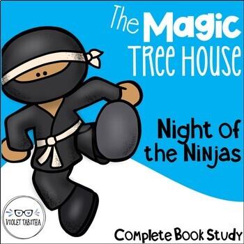 Night of the Ninjas Guided Reading Magic Tree House Unit