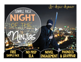 Night of the Ninjas NO PREP (ELA) SAMPLE