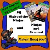 Night of the Ninjas & Ninjas and Samurai-A Paired Reading,