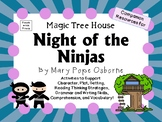 Night of the Ninjas by Mary Pope Osborne:  A Complete Literature Study!