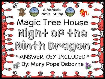 Night of the Ninth Dragon : Magic Tree House #55 (Mary Pop