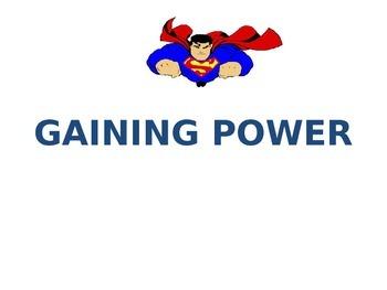 SUPER HERO BEHAVIOR MANAGEMENT PLAN