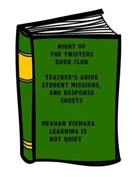 Night of the Twisters Book Club (Guide, Discussion, Interactive Missions)