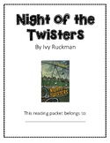 Night of the Twisters Guided Reading Packet