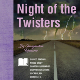 Night of the Twisters - Novel Study/Guided Reading