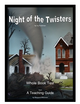 Night of the Twisters Whole... by Margaret Whisnant | Teachers Pay ...