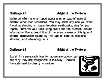 """""""Night of the Twisters"""", by I. Ruckman, 8 Project Challenges"""