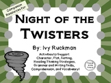 Night of the Twisters by Ivy Ruckman: A Complete Novel Study!