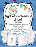 Night of the Twisters by Ivy Ruckman Literature Unit