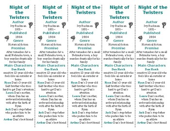 Night of the Twisters ed. of Bookmarks Plus—A Very Handy R