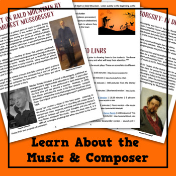 Night on Bald Mountain Musical Lesson Plan