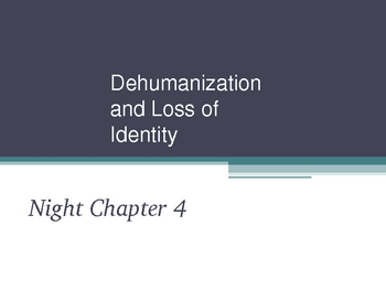 Night_Dehumanization and Loss of Identity