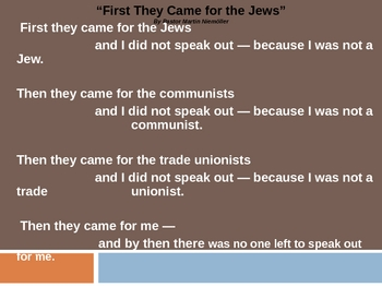 Night_First They Came for the Jews ThinkPairShare