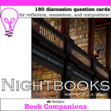 Nightbooks Novel Study Question Cards for Classroom & Dist