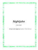 Nightjohn Novel Unit Plus Grammar