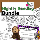Nightly Reading BUNDLE | Reading Logs and Reading Pet Adoption