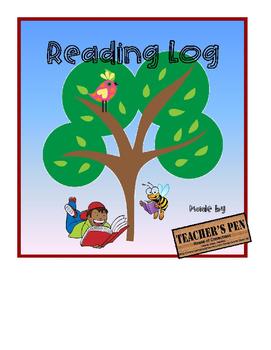 Nightly Reading Log