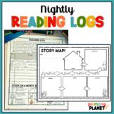 Reading Logs | Reading Homework | Reading Comprehension Ac