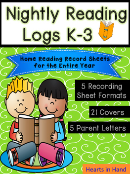 Nightly Reading Logs K-3