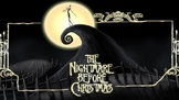 Nightmare Before Christmas - Power Point movie review facts plot Tim Burton's