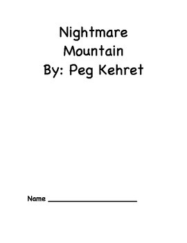Nightmare Mountain Novel Packet