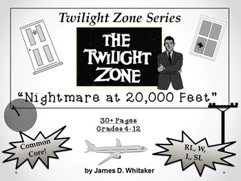 Nightmare at 20,000 Feet Twilight Zone Episode Unit Resour