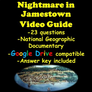 Nightmare in Jamestown National Geographic Video Guide