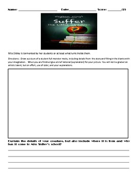 Nightmares & Dreamscapes by Stephen King Unit/Novel Study Assessments