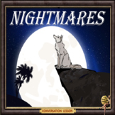 Nightmares – ESL adult conversation power point lessons