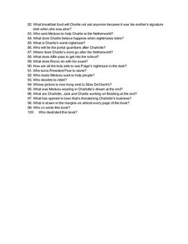Nightmares Trivia Questions