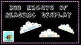 Nights of Reading Display Clouds
