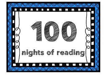 Nights of reading posters