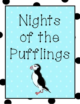 Nights of the Pufflings Activity Pack