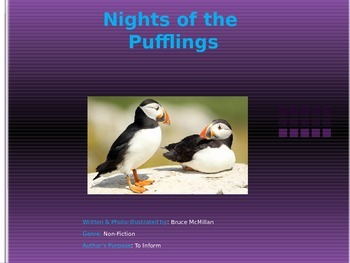 Nights of the Pufflings Skills Power Point