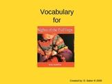 Nights of the Pufflings Vocabulary Houghton Mifflin Series