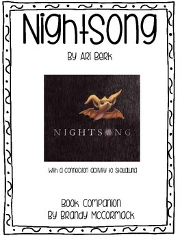 Nightsong Book Companion with a Stellaluna Connection