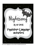 Nightsong by Ari Berk Figurative Language Identification Activities