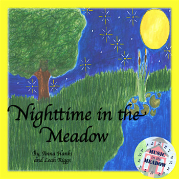 Nighttime in the Meadow Ebook, no lyrics