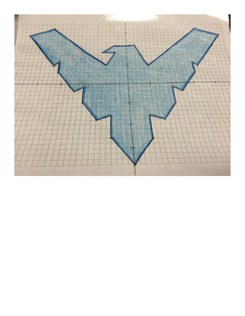 Nightwing Coordinate Drawing