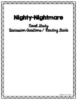 Nighty-Nightmare Discussion Questions