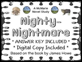 Nighty-Nightmare (James Howe) Novel Study / Reading Comprehension