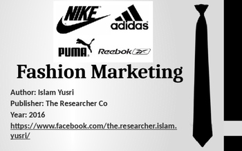 Nike Fashion Marketing Presentation