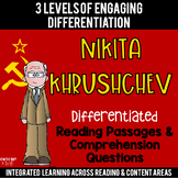 Nikita Khrushchev Differentiated Reading Passages
