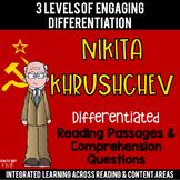 Nikita Khrushchev Differentiated Reading Passages