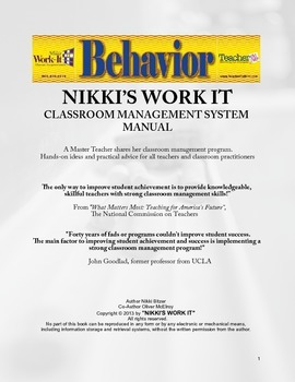 Nikki's Work-It Manual