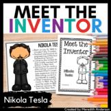 Nikola Tesla - Meet the Inventor Biography Activity