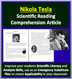 Nikola Tesla - A Famous Scientist Reading