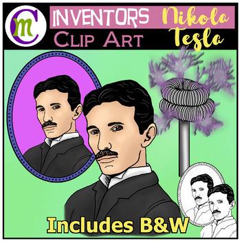 Nikola Tesla Clip Art